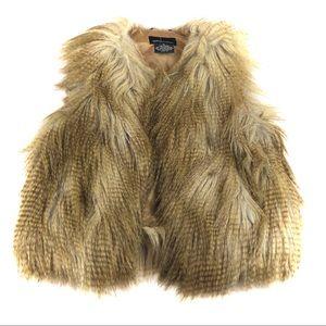 Victoria Secret Stunning Faux Fur Vest -XS